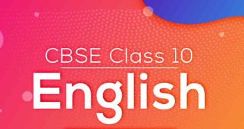 Cbse class 10 english