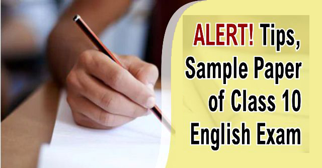 CBSE Sample Papers for Class 10 English
