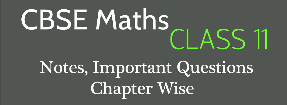 Class 11 Maths – XI Practice