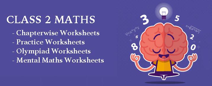 CBSE Class 2 Maths Worksheets