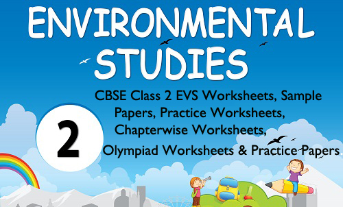 cbse class 2 evs Worksheets