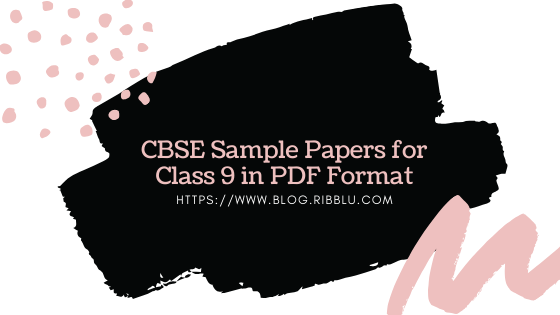 SST Sample Papers for Class 9 in PDF Format