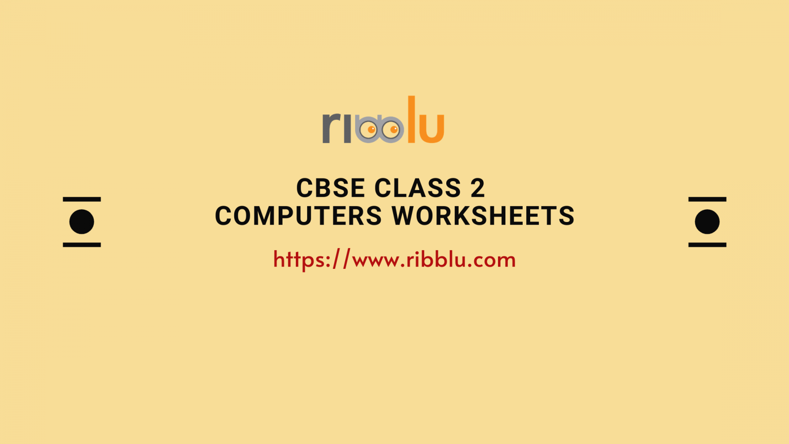 CBSE Class 2 Computers Worksheets